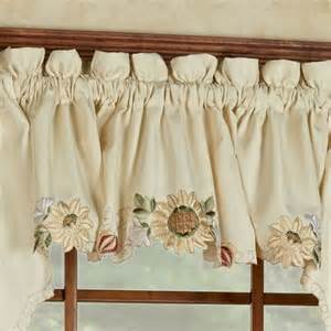 Sunflower Valances sunflower tailored valance light 60 x 12 touch of