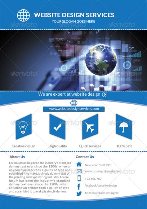 website pattern maker web design services flyer by mehrodesigns graphicriver