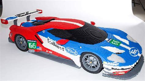lego cars ford gt gets the lego treatment car carsguide