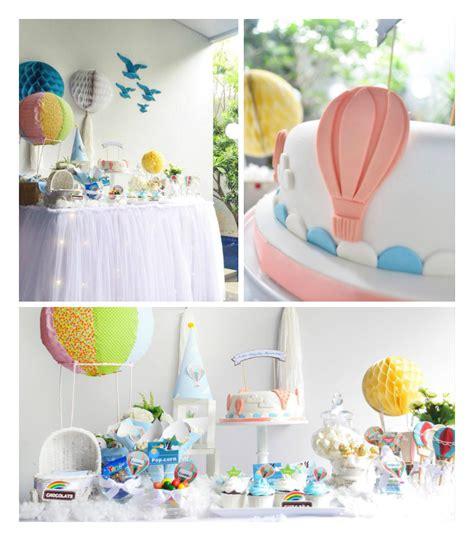 Air Balloon Baby Shower Ideas by Kara S Ideas Above The Clouds Air Balloon Baby