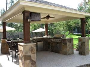 covered outdoor kitchen 28 images photos of covered