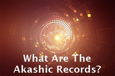 What Are Records What Are The Akashic Records Your Energetic Signature Intuitive Journal
