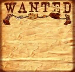 wanted poster template free 8 best images of free printable western wanted sign