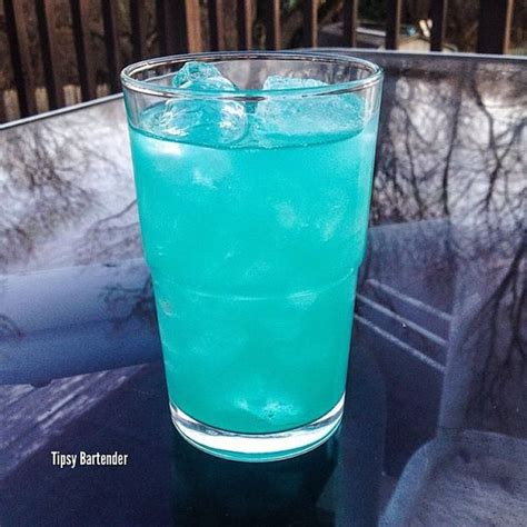 best way to drink vodka holy water cocktail tipsybartender blue curacao