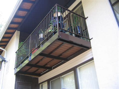 Cantilevered Deck by Balconies