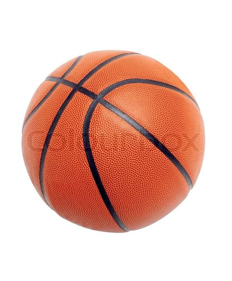 for basketball of orange colour isolated on white background stock photo colourbox