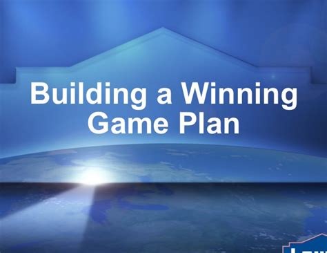 Cedric T Coco Mba by Building A Winning Plan