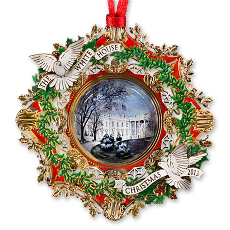 2013 White House Christmas Ornament The American Elm Tree The White House