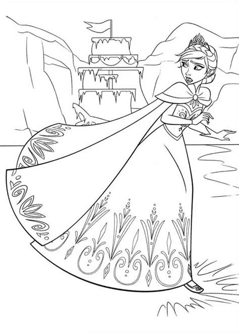 elsa thanksgiving coloring page 17 best images about frozen coloring pages on pinterest