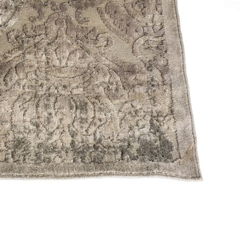 Grey Damask Rug by Area Rug Damask Grey Encore Events Rentals
