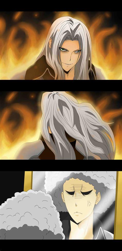 Sephiroth Meme - sephiroth s bad hair day by darthfilart on deviantart