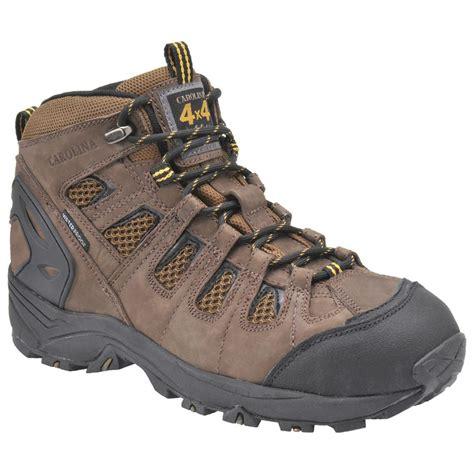 composite toe hiking boots s carolina 174 6 quot 4x4 waterproof composite toe hikers