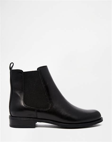 black ankle flat shoes black flat ankle boots leather yu boots