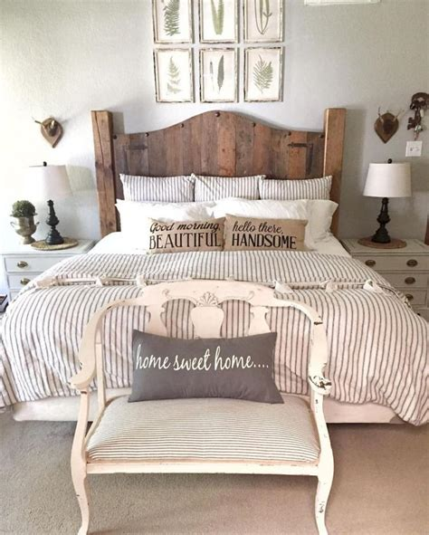 rustic master bedroom decor ideas