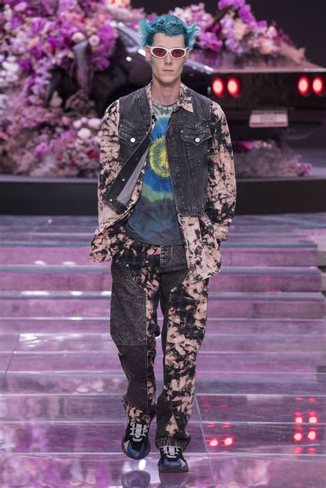 versace spring summer  mens collection  skinny beep