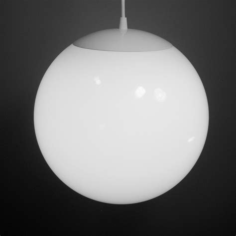 Globe Light Fixture Pendant Light Large 12 Inch Glass Globe Mid Century Modern Light Fixture Created New