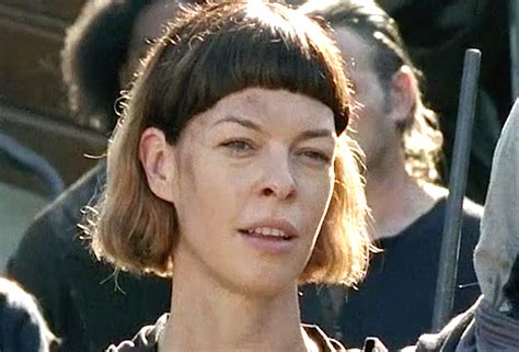 milla jovovich in the walking dead the walking dead season 7 preview jadis and the