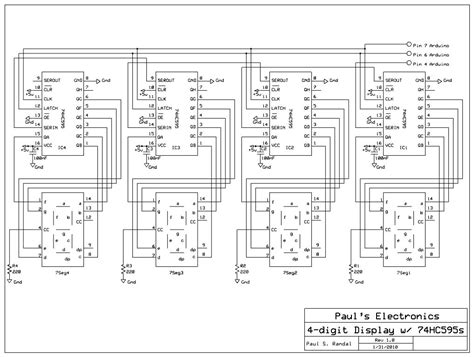 decoupling capacitor shift register paul s electronics shift registers
