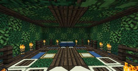 elven bedroom bed room design elven minecraft project