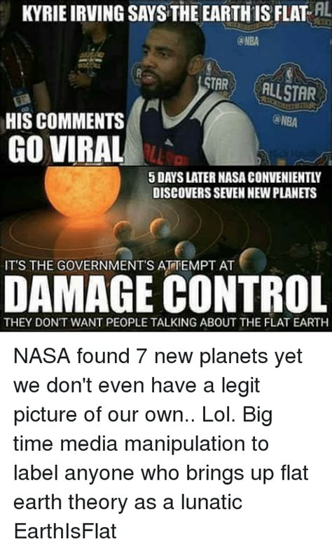 Kyrie Irving Memes - 25 best memes about flat earth theory flat earth theory
