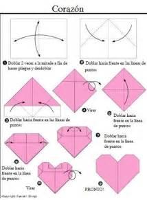 como aser corazones bonitos c 243 mo hacer un coraz 243 n de origami pequeocio