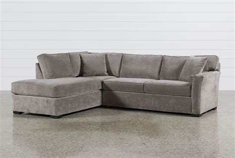 living spaces chaise sofa aspen 2 piece sectional w laf chaise living spaces