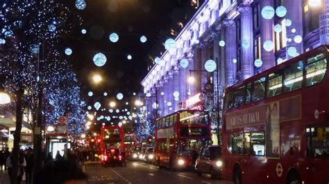 london lights christmas new year 2014 youtube