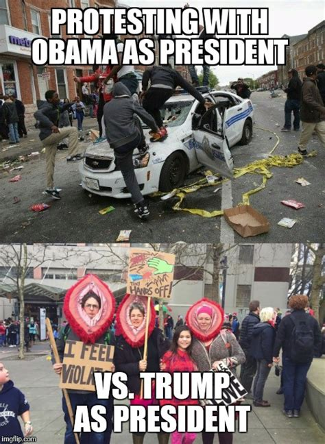 Protest Meme - trump protests imgflip
