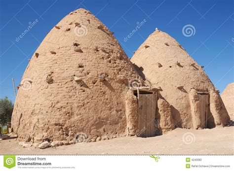 clay house designs syria clay house stock photography image 4240082