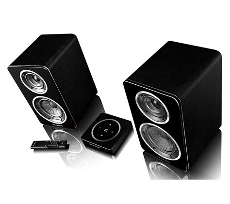 wharfedale active wireless bookshelf speakers