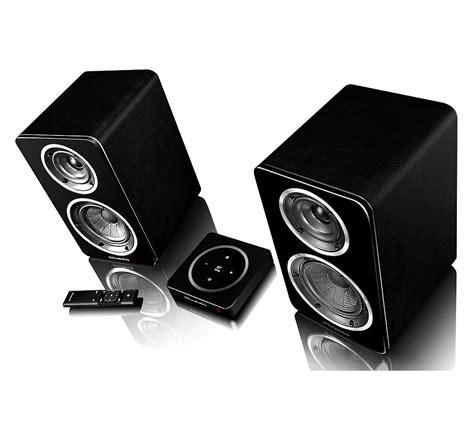 wireless bookshelf speakers for tv wharfedale active wireless bookshelf speakers