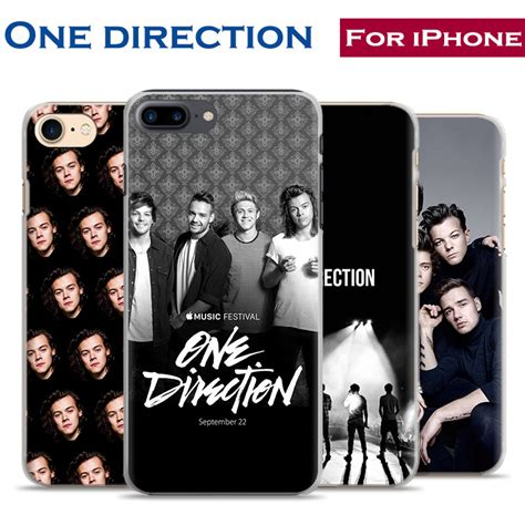 One Direction 1d Casing Iphone 7 6s Plus 5s 5c 4s Cases Samsung fashion one direction 1d mobile phone cover shell bag