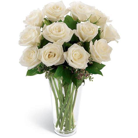 Wallpaper Bunga Rose Putih | gambar bunga mawar putih dalam vas bunga pernik dunia