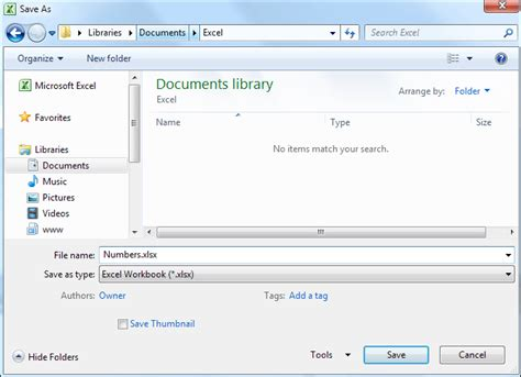 Saving A Document Tutorial Webucator - excel 2007 to excel 2016 tutorials how to save your