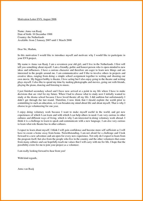 Motivation Letter To Employees motivation letter for exle 17 exle of a motivation letter for sendletters