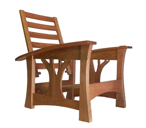 arbor bow arm morris chair by brian brace furniture