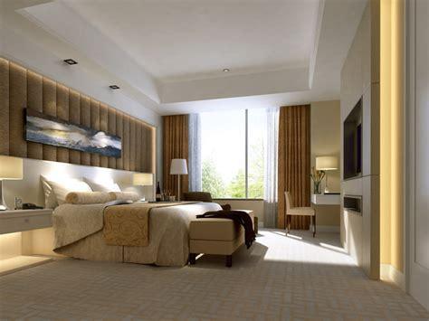 Bedroom 3d Max by Hotel Room Bedroom 3d Model Cgtrader