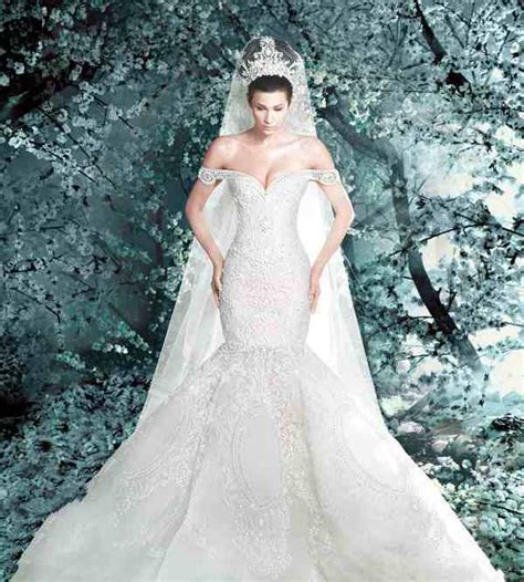 Classic Retro Best Design Mermaid Wedding Dresses Lace