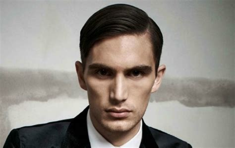 mens hair no part how to get the perfect side parting the idle man