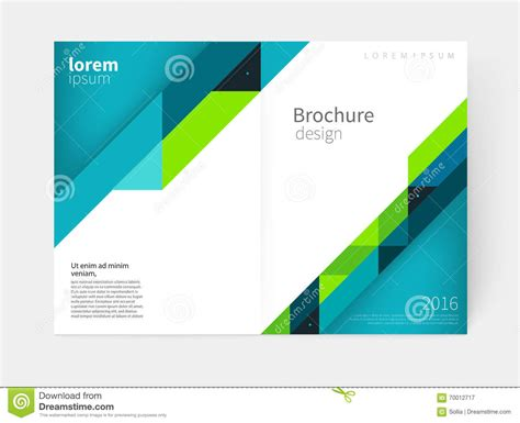 Annual Report Template Circle And Triangles Hossain Triangles And Lines Annual Report Flyer Brochure Template