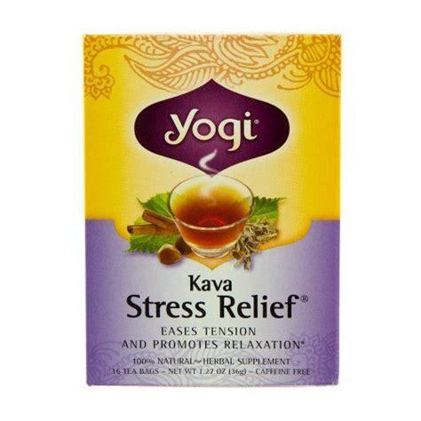 Yum Tea Detox by Kava Stress Relief Tea 16 Bags By Yogi Teas Yum