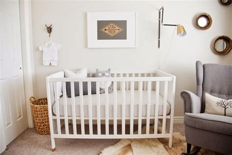 How To Decorate A Nursery On A Budget Affordable Nursery Decorating Ideas Popsugar Home Australia