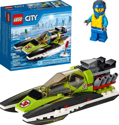 lego city race boat lego city race boat