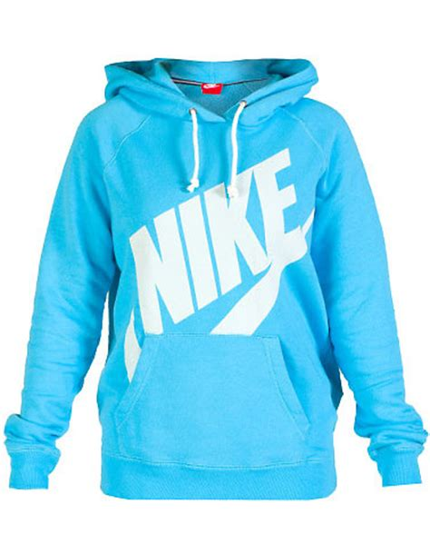light blue nike hoodie nike nike rally logo hoodie blue 545585424 jimmy jazz
