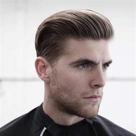 peinados con pelo corto hombre cortes de pelo hombre tendencias modernas 2017