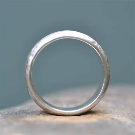 Handmade Engagement Rings Uk - handmade silver wedding rings uk