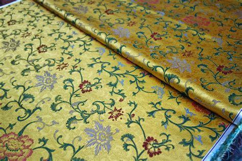 cuscino cinese cuscino cinese broccato di seta tessuto damascato tessuto