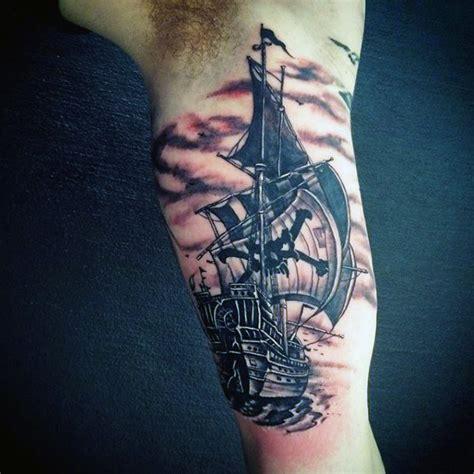 clipper ship tattoo designs 70 ship ideas for a sea of sailor designs