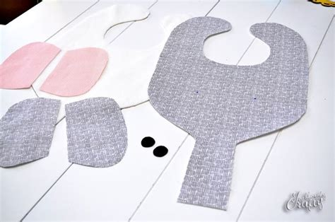 free pattern pacifier bib elephant bib binkie holder pattern tutorial sewing