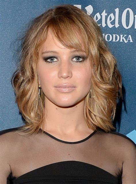 hairstyles with bangs for round faces 2013 medium length hairstyle for round face